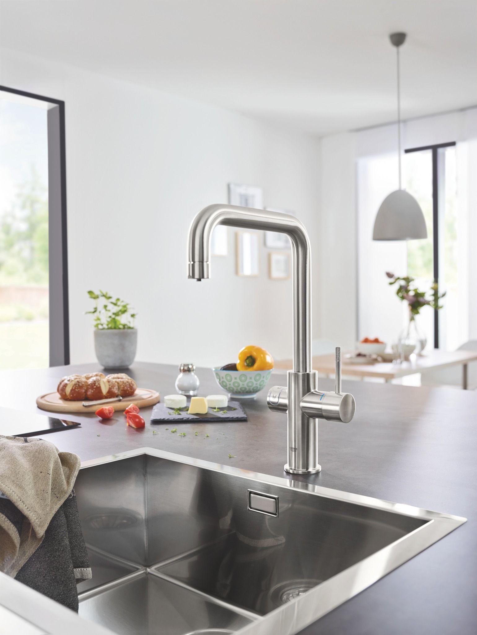Leitungswasser Als Geschmackserlebnis Grohe Blue Home Kuchenarmatur Grohe Blue Kuchenarmaturen
