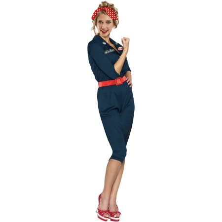Free Shipping on orders over $35 Buy Rosie The Riveter Adult