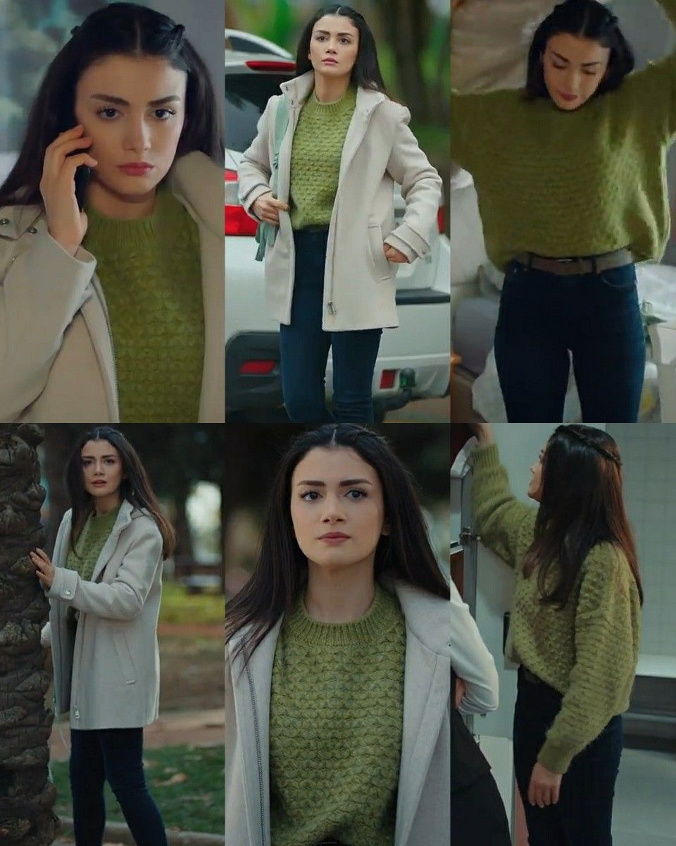 Serra 6 Episode Sol Yanim In 2021 Tv Show Outfits Fashionable Work Outfit Trendy Fashion Tops