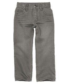 Landon's new pants, Gymboree