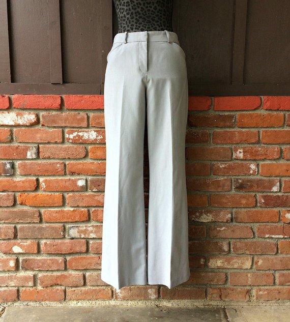 8382fdfc2267 Worthington Light Gray Modern Fit Slacks / Light Gray Dress Pants / Women's  Worthington Gray Pants /