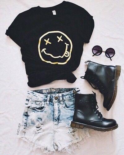 tumblr, black and sunglasses image on We Heart It