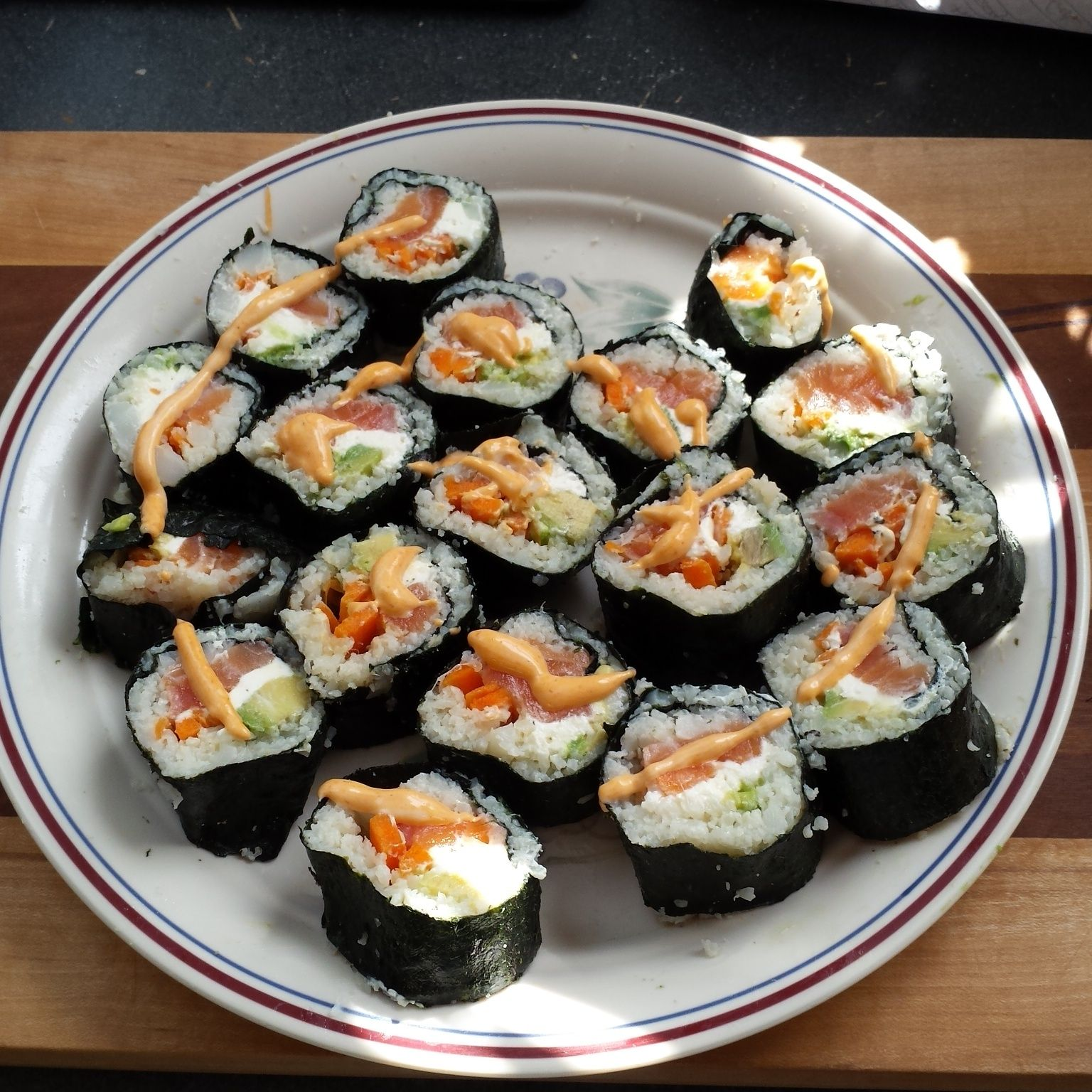 drag to resize or shift+drag to move Sushi rice, Sushi