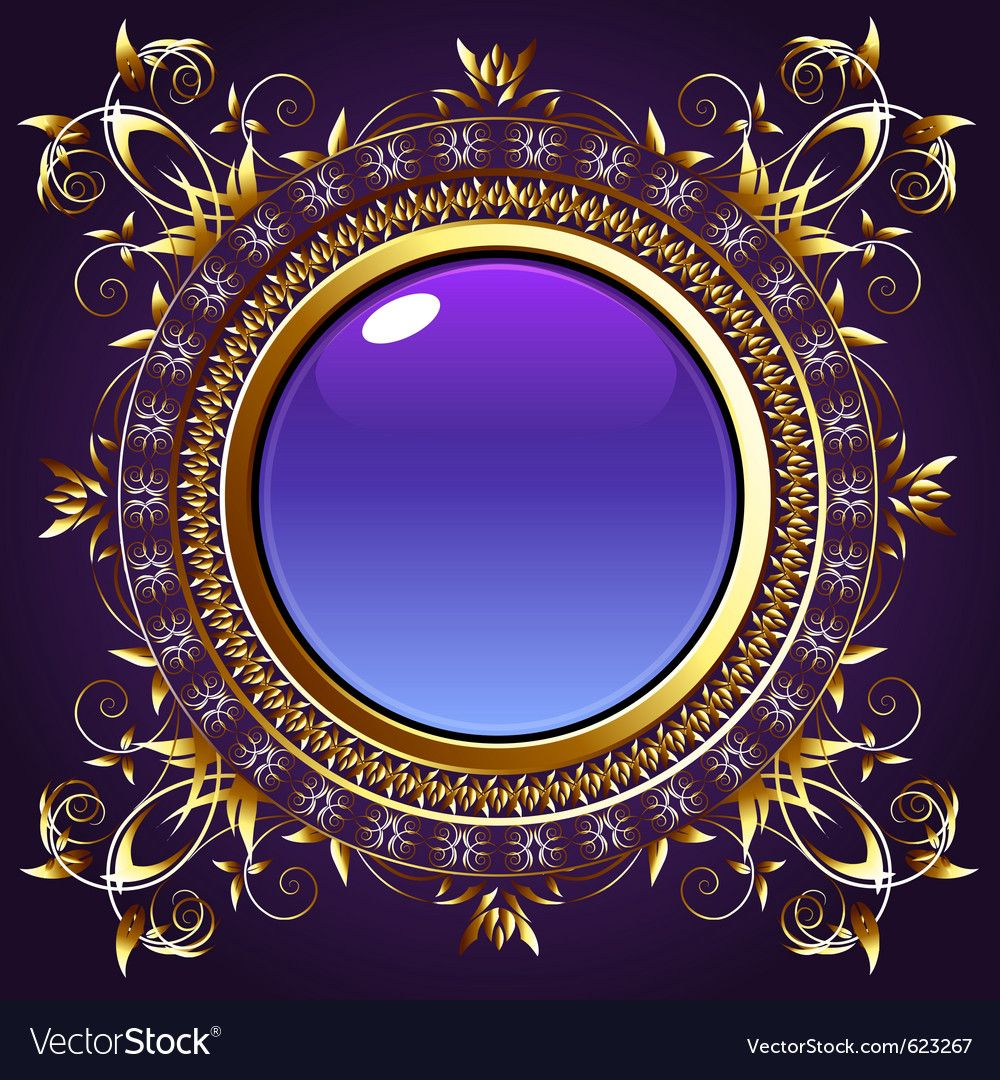 Vintage Frame Vector Image On