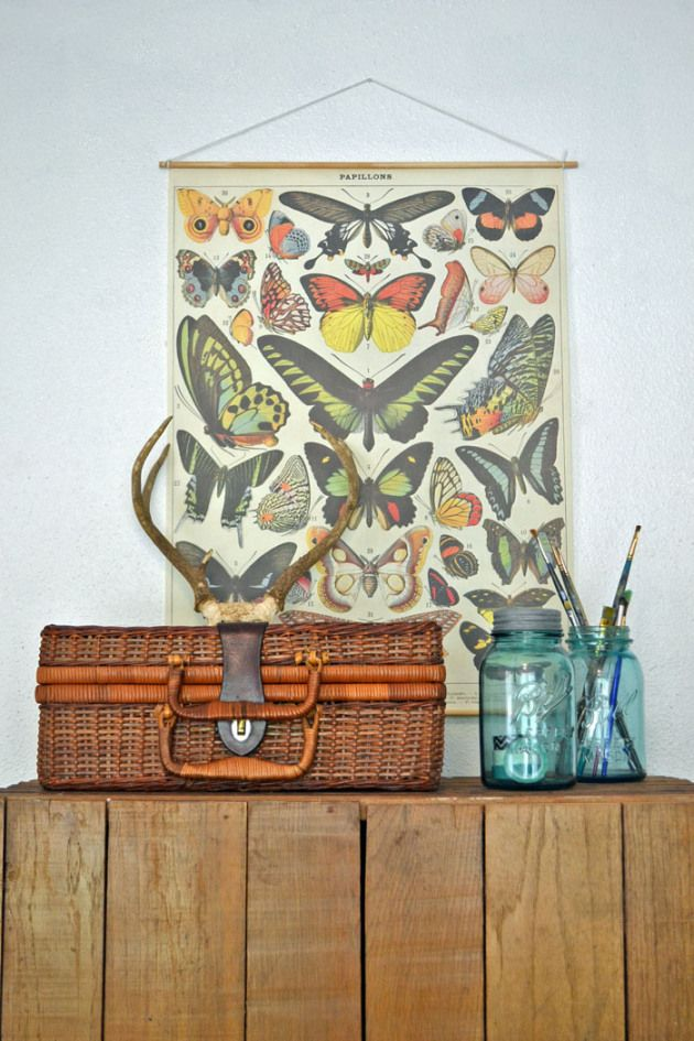 We Love This Tutorial By Azul Home On How To Make Your Own Vintage Style Poster