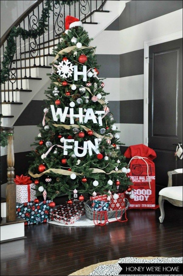 themed christmas tree ideas creative holiday decorating | Christmas ...