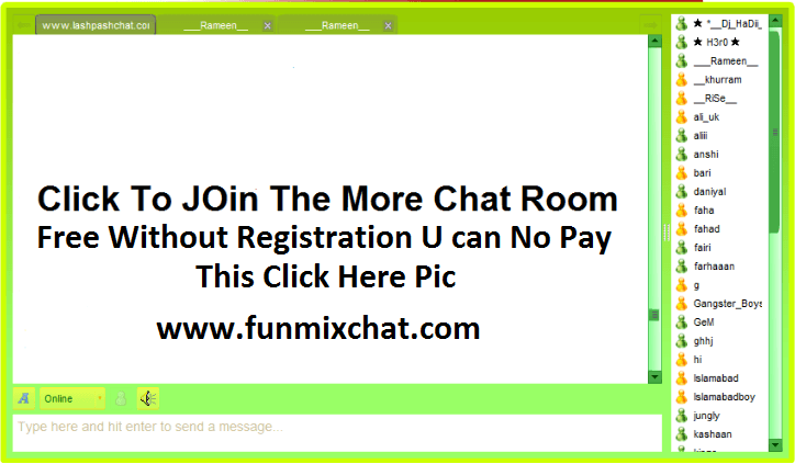 Chat rooms uk no registration