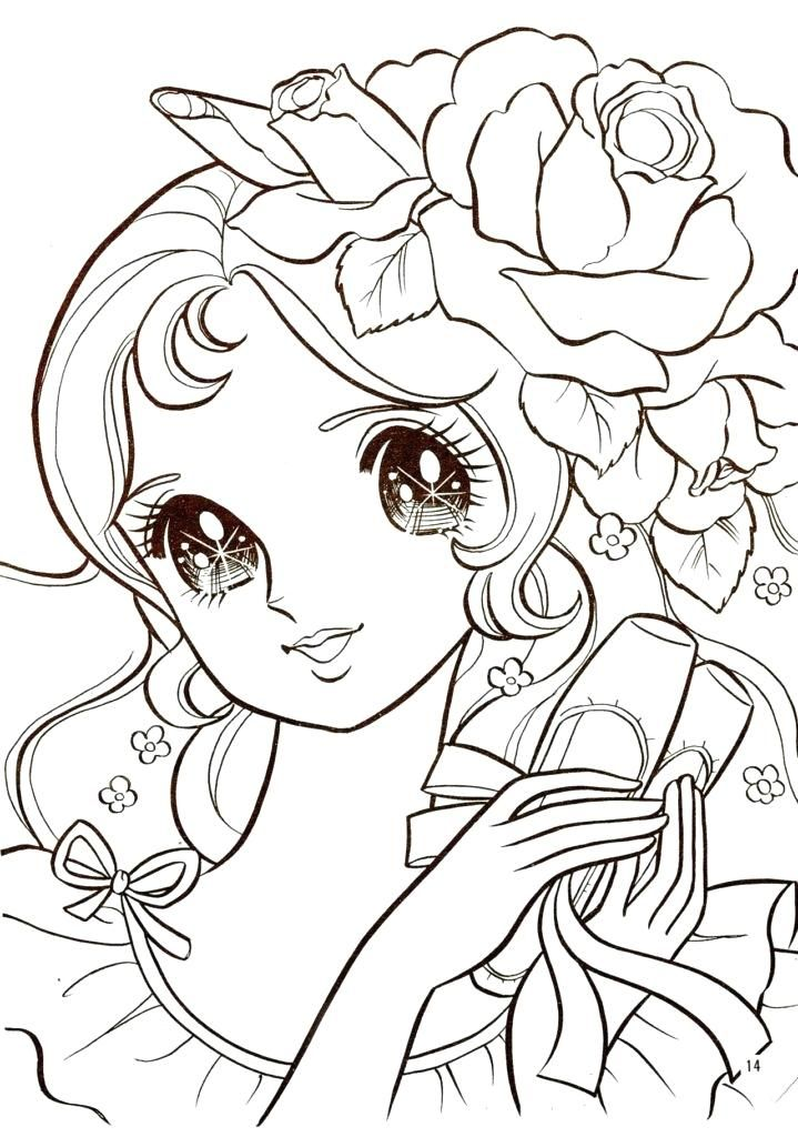 Manga Tiere Ausmalbilder   Coloring pages, Coloring books ...