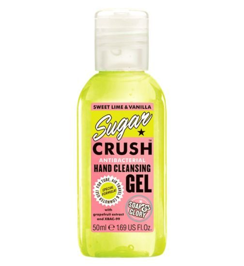 Soap And Glory Sugar Crush Hand Sanitizer 50ml Boots Soap And