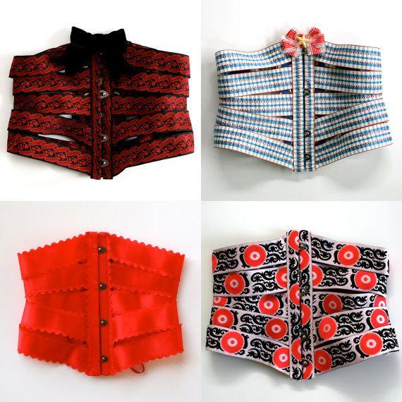 Ribbons Corsets by HoneyCoolerHandmade
