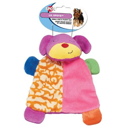 Hdp Spot Lil Spots Plush Blanket Toys For Small Dogs And Puppies
