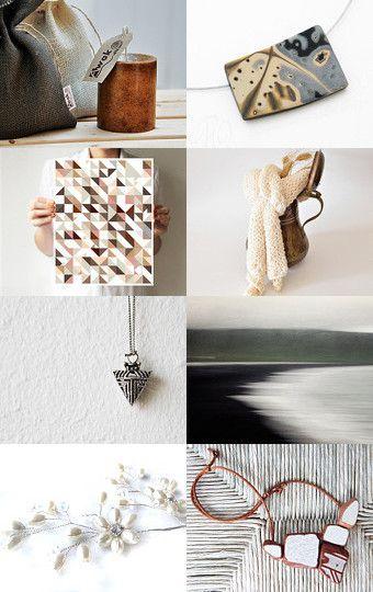 Inspiring Neutrals - by PrtSkin - http://www.etsy.com/shop/PrtSkin