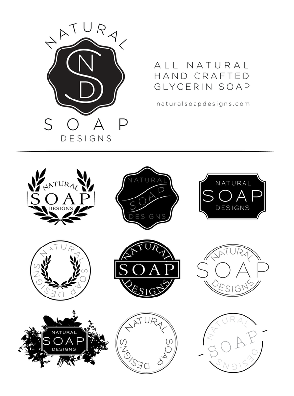 natural soap designs logo © maggie o'hare www.maggieohare | my