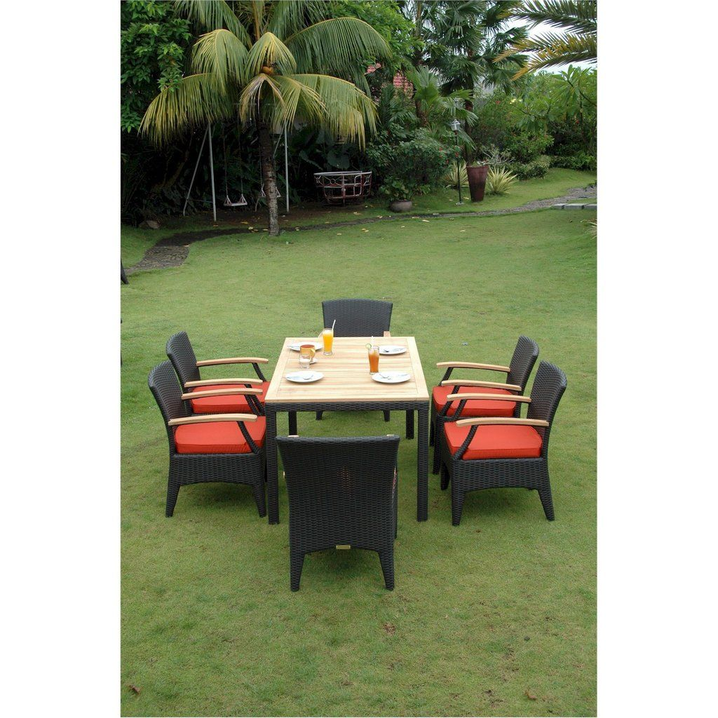 Anderson Teak Bellagio Dining Table Collection Dining