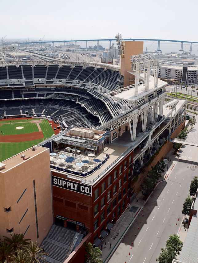 Slideshow San Diego Ca Dwell Mlb Stadiums Baseball Park Petco Park