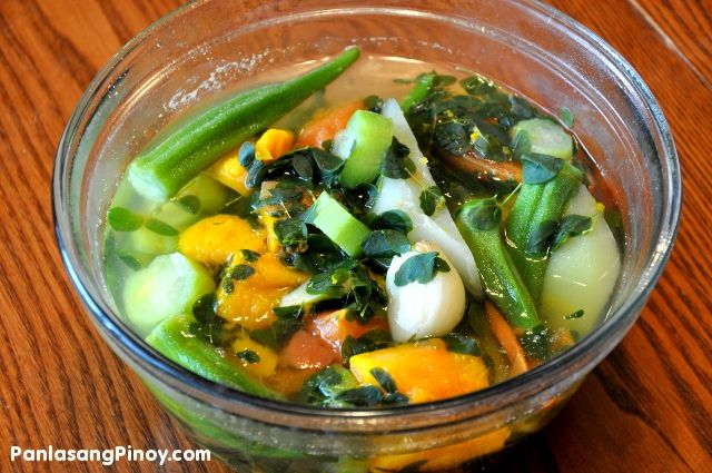 Bulanglang Recipe Filipino Vegetable Recipes Yummy Vegetable