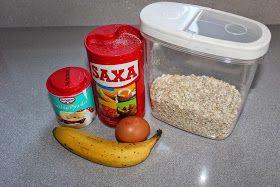 Banana & Oat Pancakes // http://elwillmer.blogspot.co.uk/2015/01/banana-oat-pancakes.html?m=1 #blogger