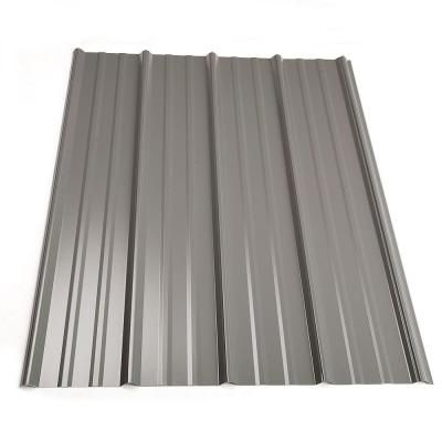 Metal Sales 10 Ft Classic Rib Steel Roof Panel In Charcoal