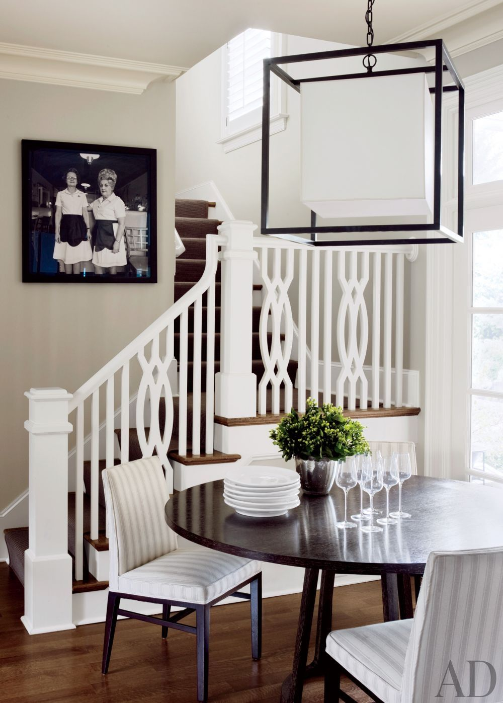 Narrow hallway lighting ideas  Contemporary StaircaseHallway by S Russell Groves in Raleigh