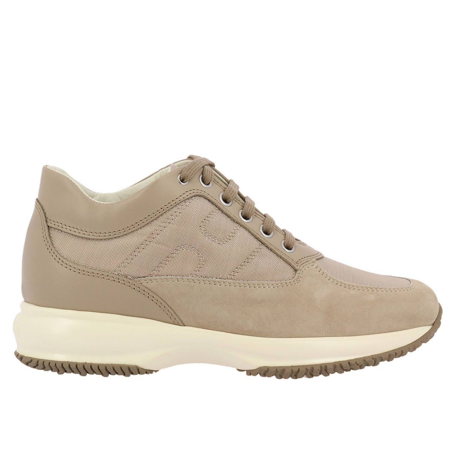 Sneakers for Women On Sale, Light Grey, Leather, 2017, 4.5 Hogan
