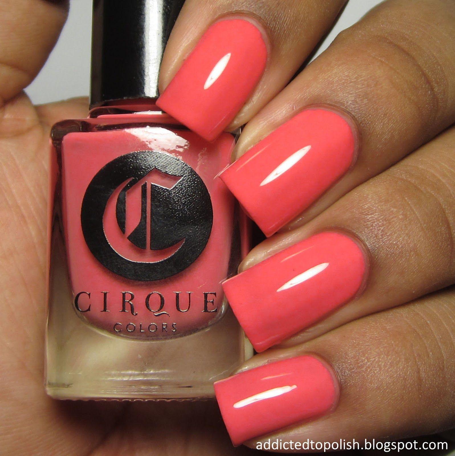 Cirque colors metropolis collection for april 2015