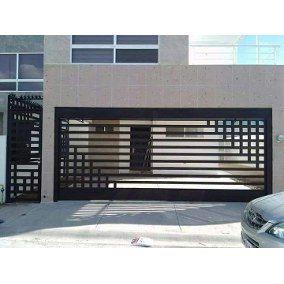 Herreria Moderna Rejas Para Casas Modernas Fachada De Casas Bonitas Puertas De Garage Modernas