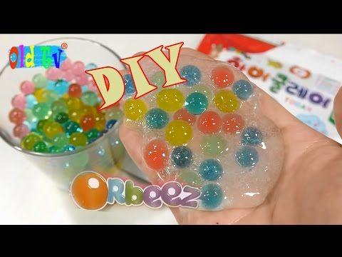 How To Make Orbeez Slime Plastic Toy Balls Kak Sdelat Orbiz