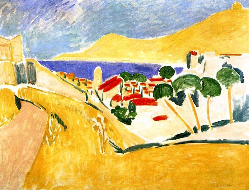 View of Collioure , 1911 Henri Matisse