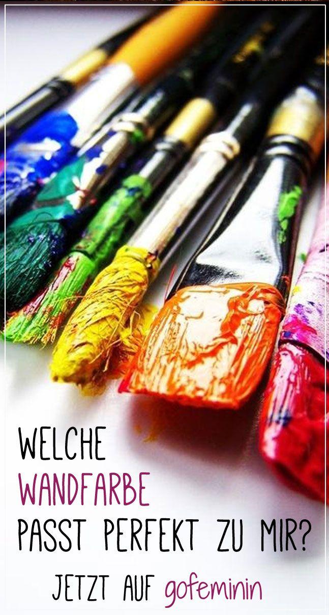 Selbst test welche wandfarbe passt perfekt zu mir einrichtung wohnen deko pinterest - Welche wandfarbe passt zu mir ...