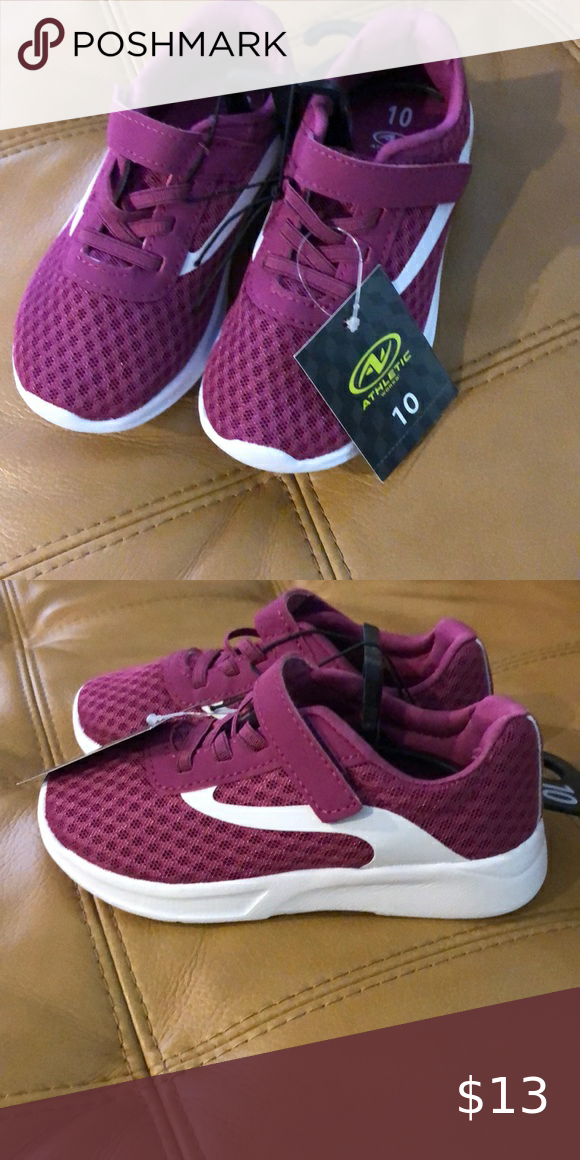 Athletics works girls shoes size 10 11