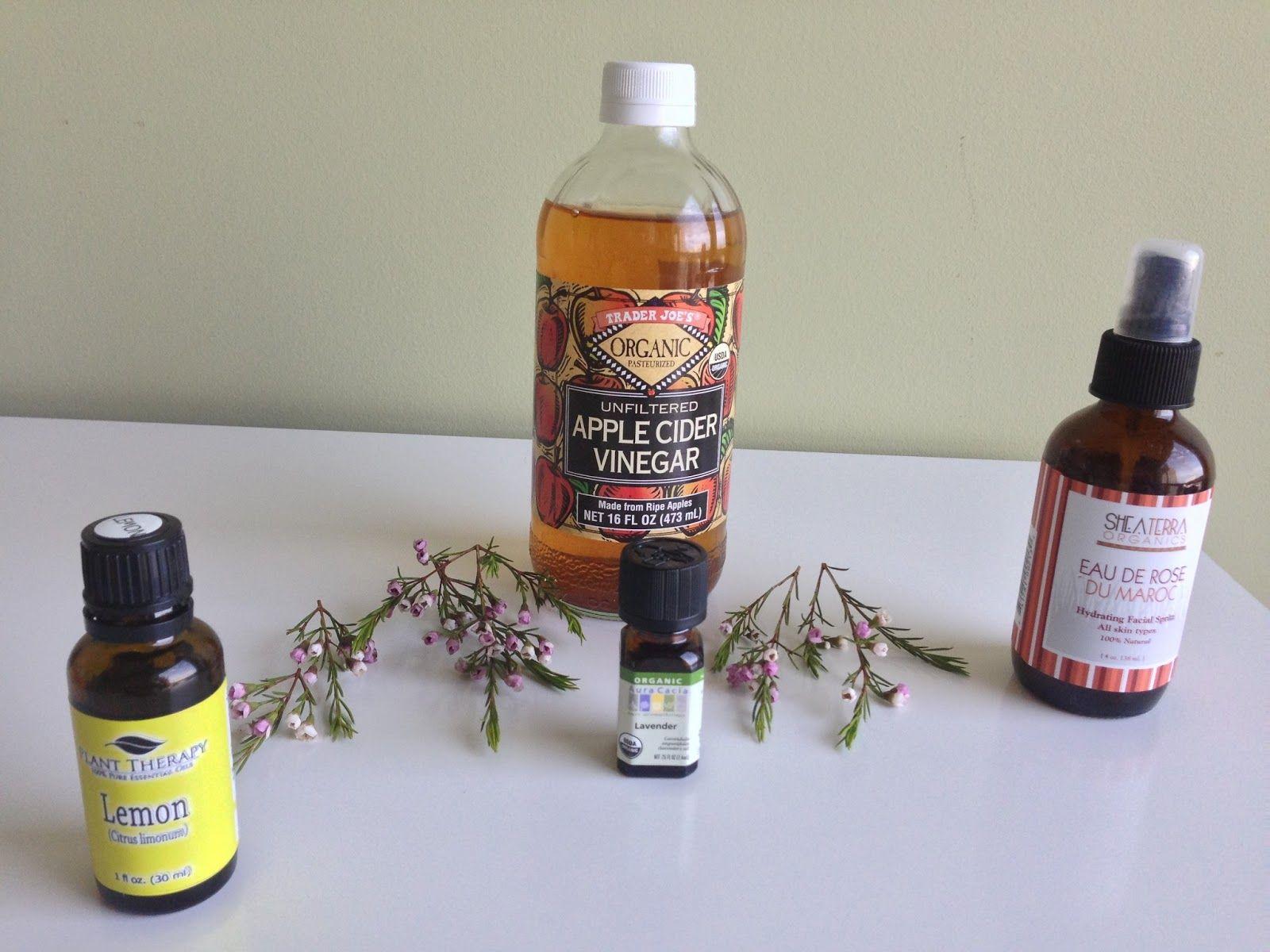 Seed to Serum: DIY Toner with rose water, apple cider