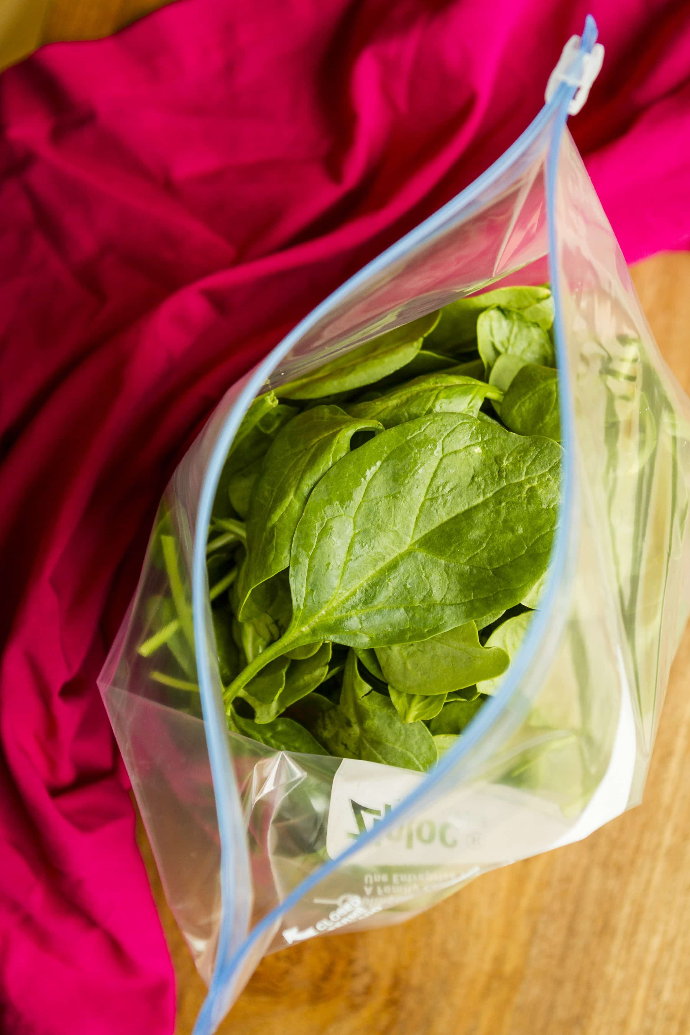 How to freeze spinach can you freeze spinach leaves yes