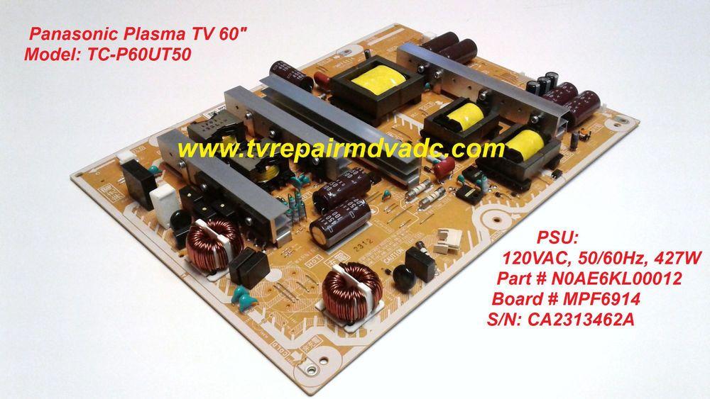 Panasonic PSU: N0AE6KL00012  MPF6914  Tested  Blinking Code