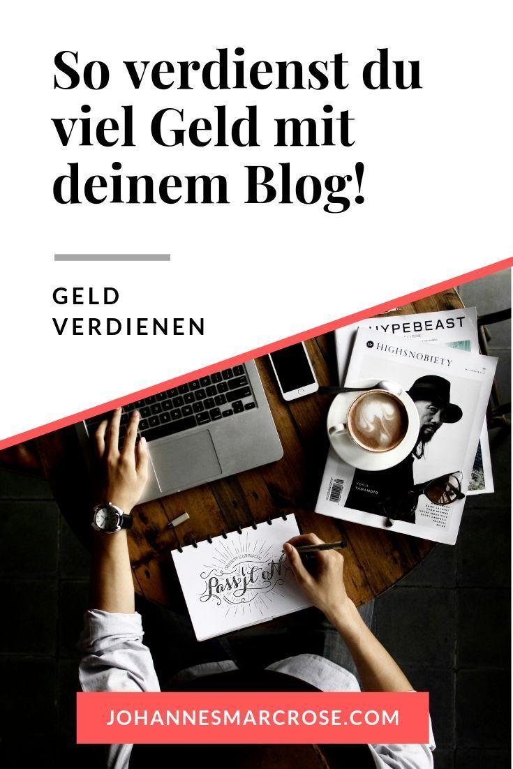 Leidenschaft zum Beruf machen - als Blogger Geld verdienen ...