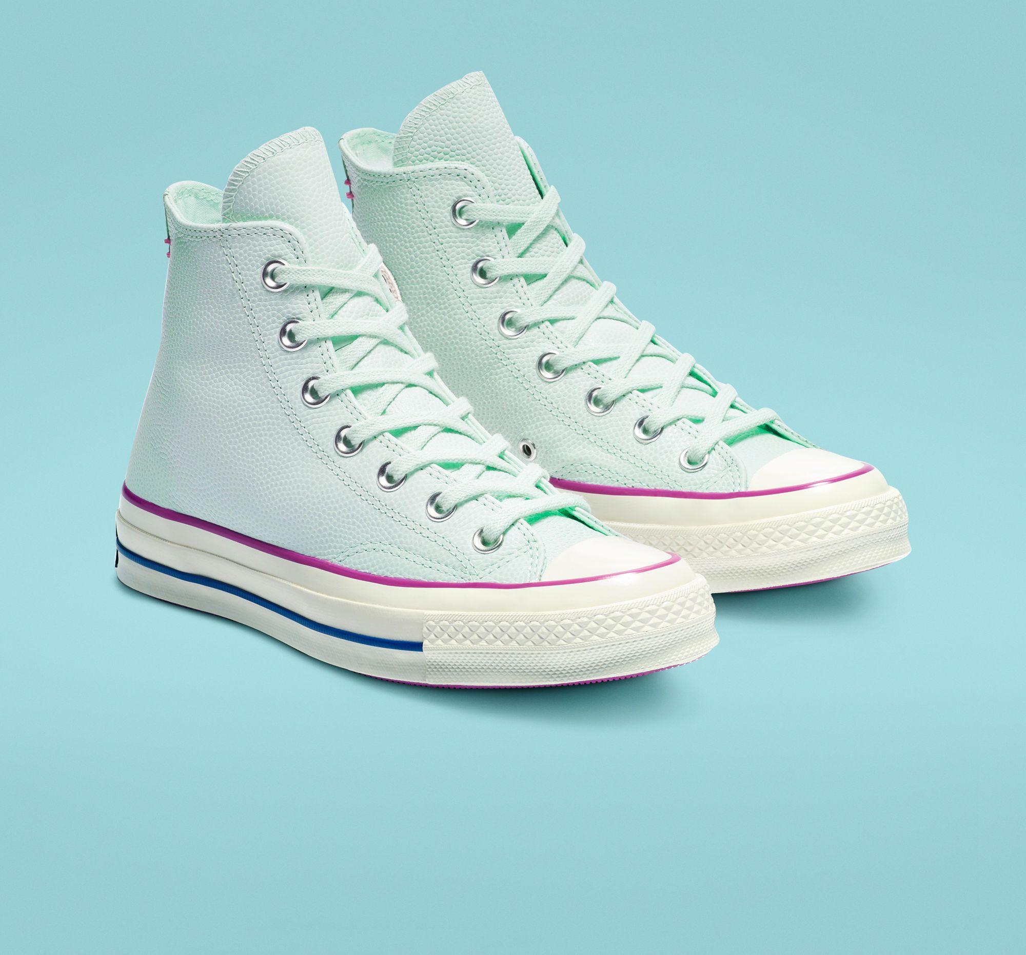 Designs Converse Chuck 70 Pastel High Schuhe Herren Im Blau