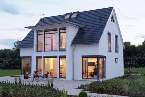 MH Hannover von LUXHAUS Klassiker Satteldach House Pinterest