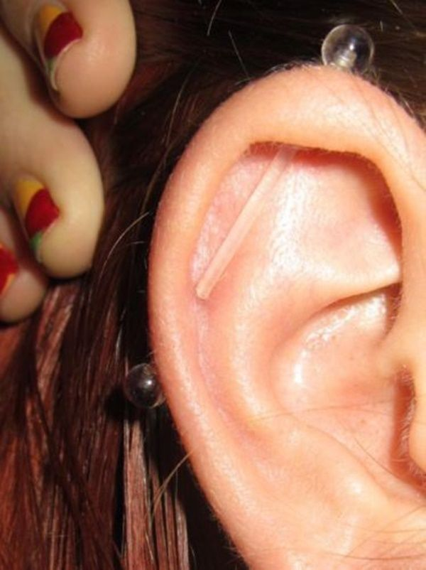 Pin By Maddy English On Piercings Industrial Piercing Ear
