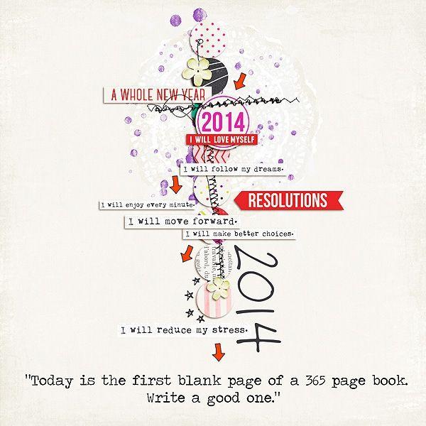 2014 Resolutions - Scrapbook.com