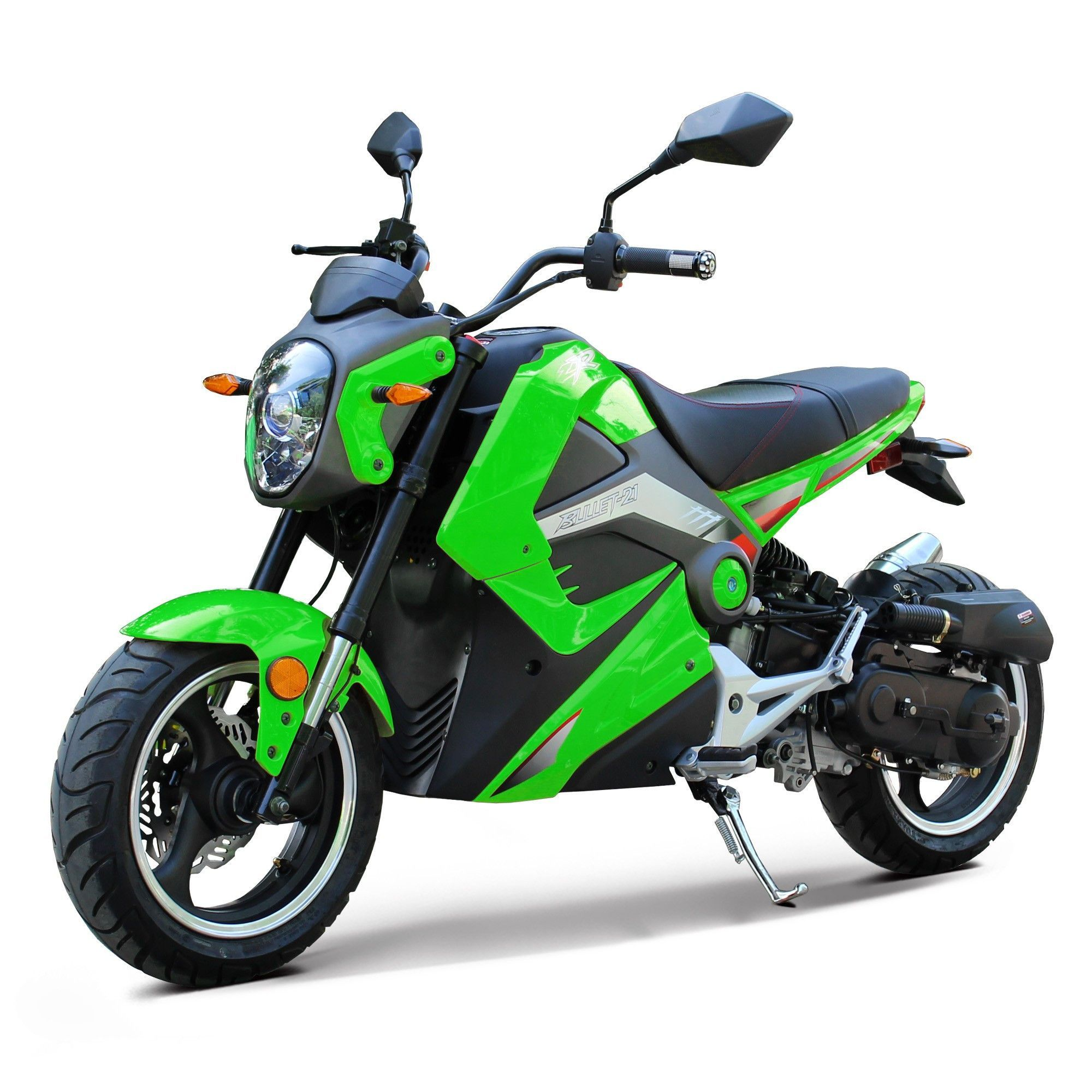 NEW BODY STYLE - Smooth & Super Durable Sport Bike 50cc ...