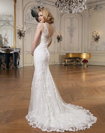 Justin Alexander Wedding Dresses Style 8530 Lace Mermaid