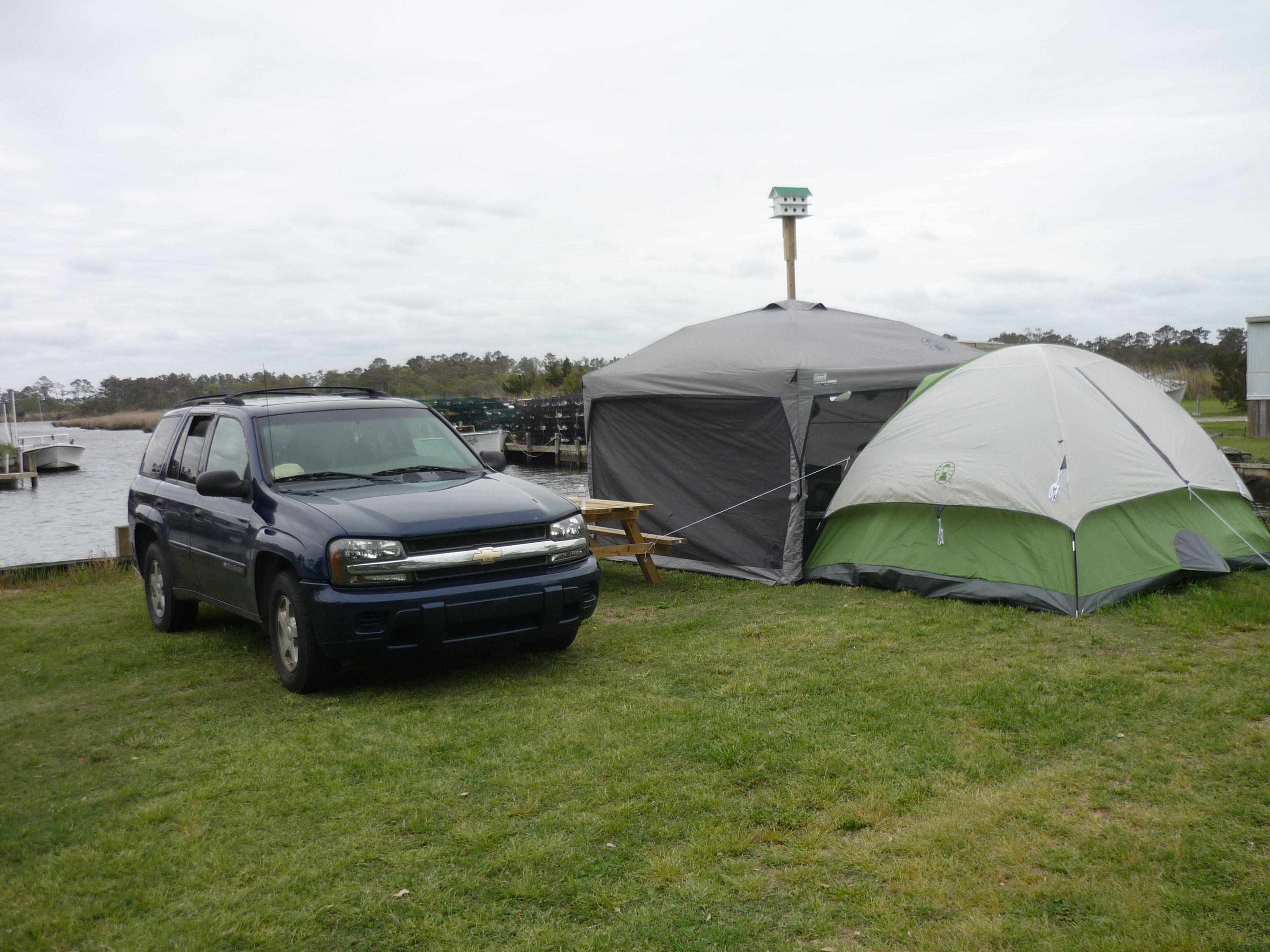 Joe and Kay's Campground on the Inter-Coastal Waterway ...
