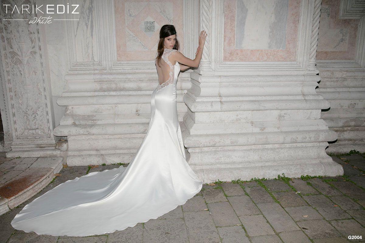 Light up wedding dress  Tarik Ediz White  Details  girlsu wedding dress  Pinterest