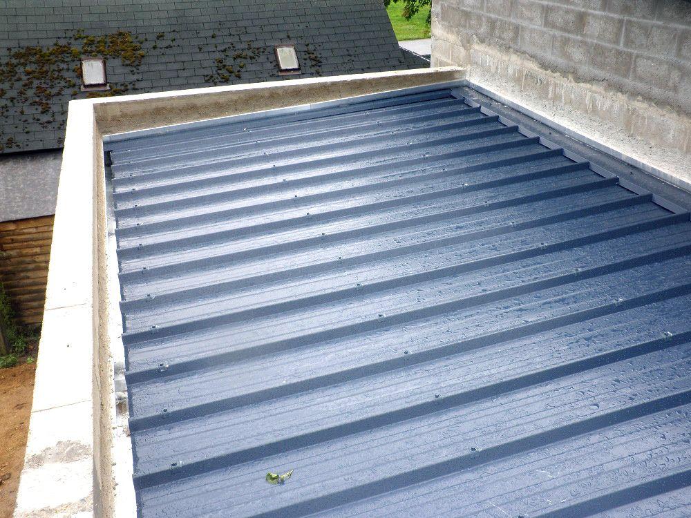 Afficher l'image d'origine Garage toit plat, Toit plat