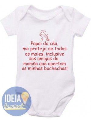 9dc68c47fa Body Infantil - Papai do Céu