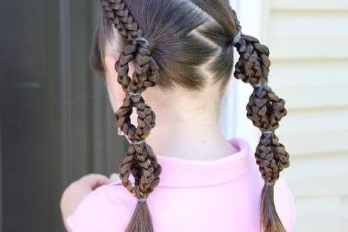 Pleasing Braided Ponytail Girls Braids And White Girl Braids On Pinterest Hairstyle Inspiration Daily Dogsangcom