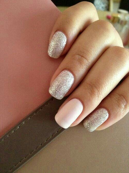 nails, glitter, and nail art image | Nails | Pinterest | Nail art ...