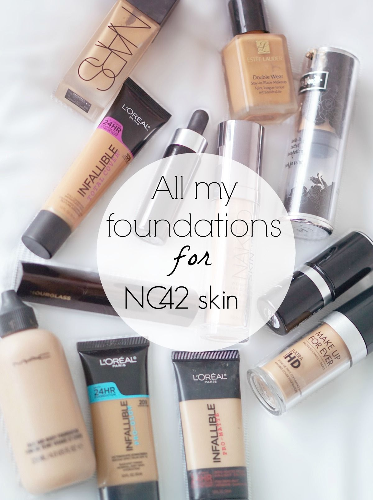 All of the foundations from other brands that work for
