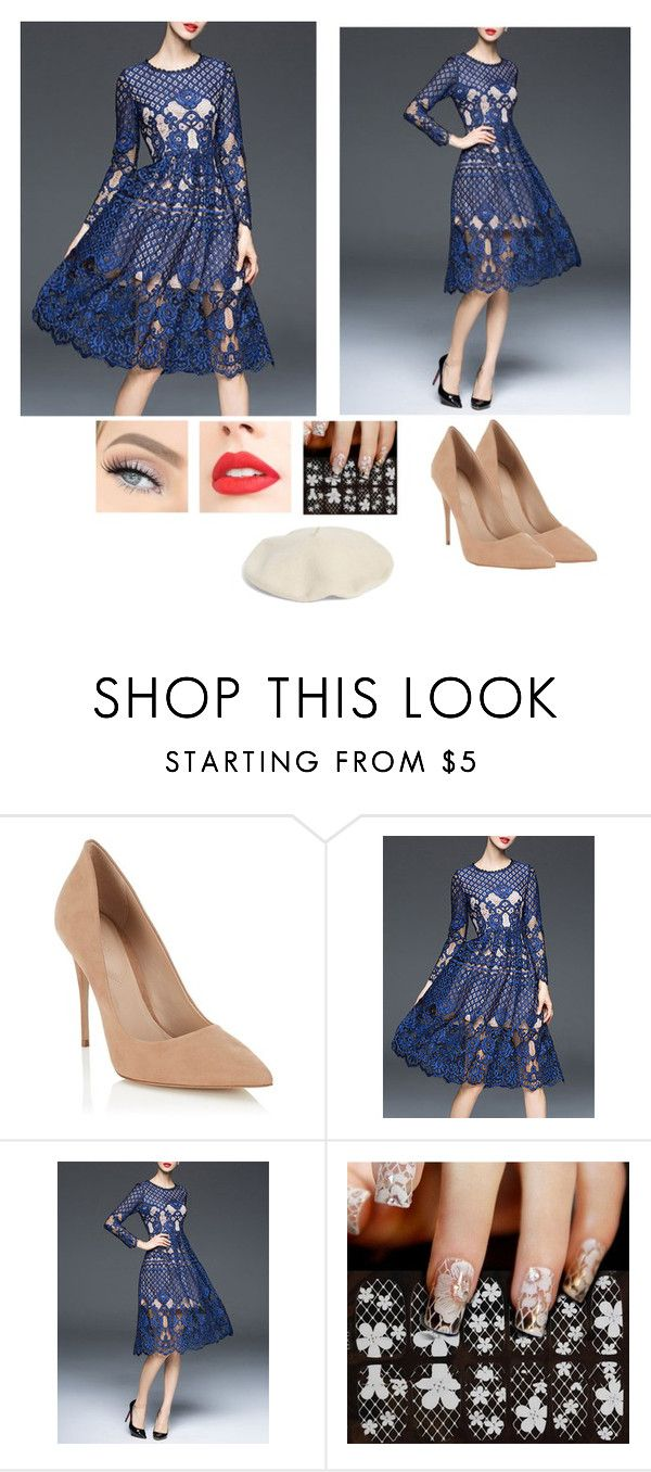 """""""Untitled #36"""" by athena637 ❤ liked on Polyvore featuring Lipsy and Halogen"""