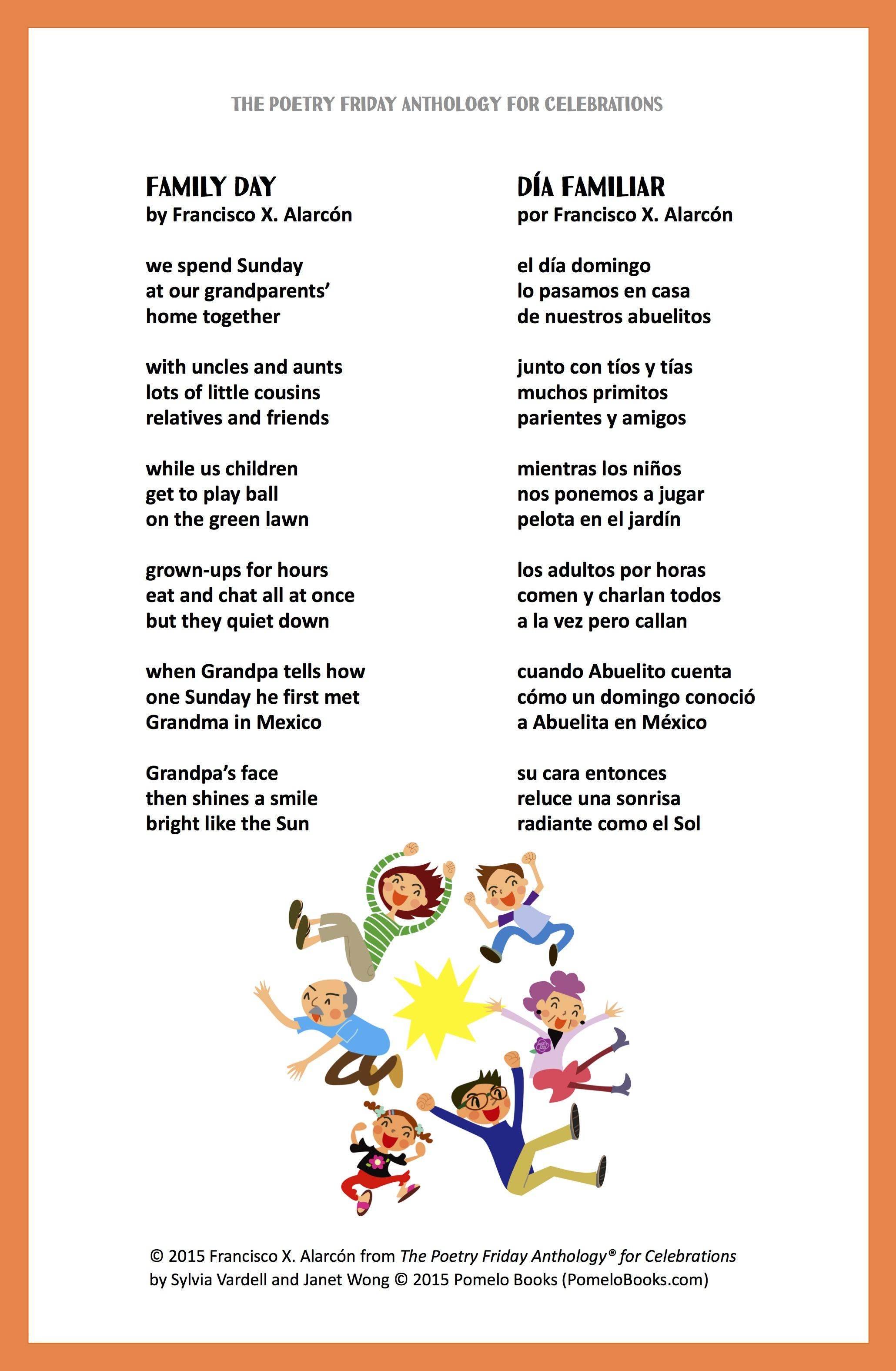 It S Always A Good Time To Celebrate Family With A Poem