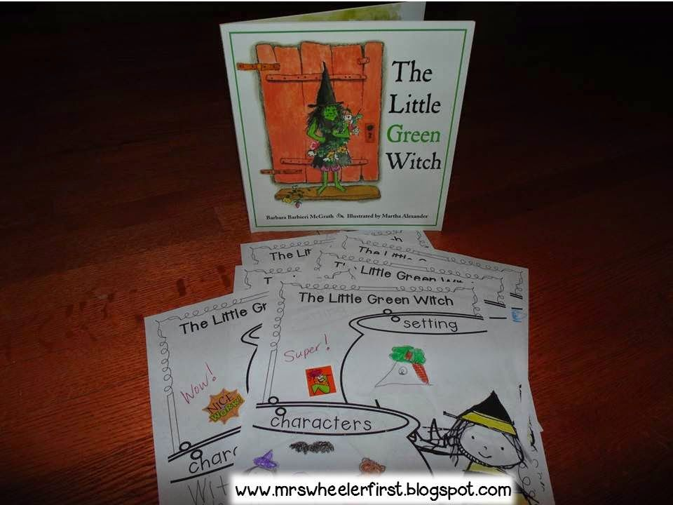 The Little Green Witch Witches Activities And Language Arts
